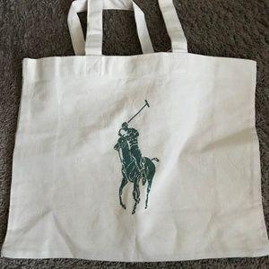 Polo Ralph Lauren Cotton Shoulder Bag